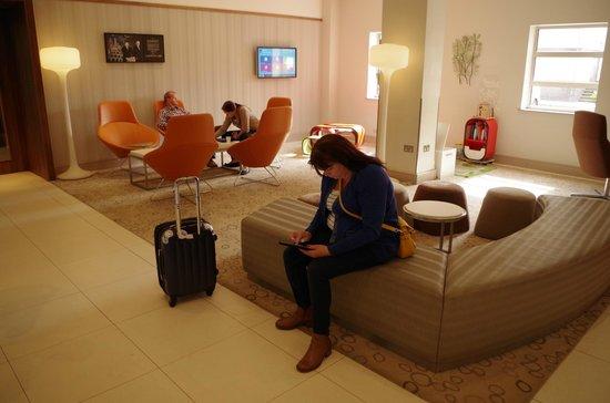 Novotel Southampton: in the lobby