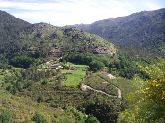 Portugal Bike: taken from a high point on a challenging cycle day