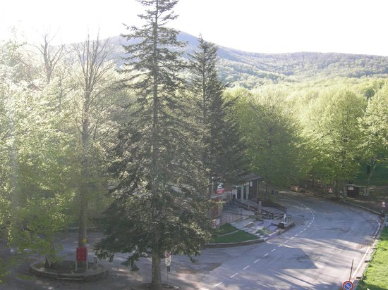Hotel Le Macinaie - Monte Amiata: vista dalla nostra camera