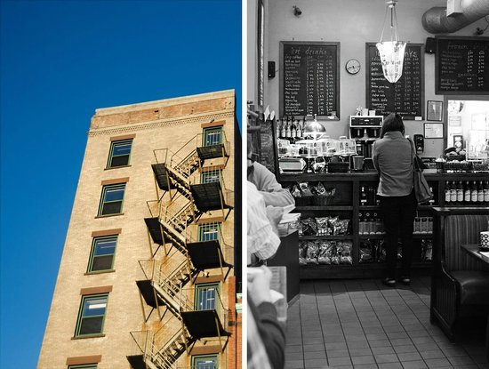 Berkeley Perk Cafe : Interior