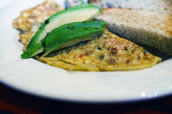 Berkeley Perk Cafe : Berkeley omelette special
