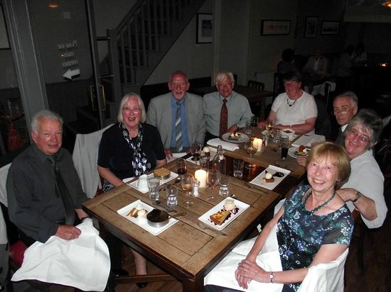 Deeson's British Restaurant: Our party at Deeson's