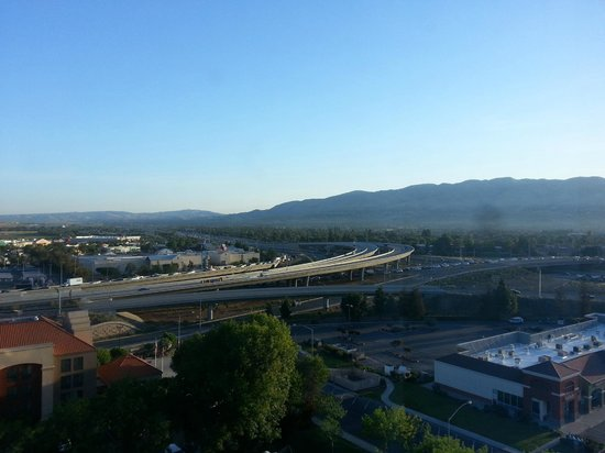 Crowne Plaza San Jose - Silicon Valley : View from my room