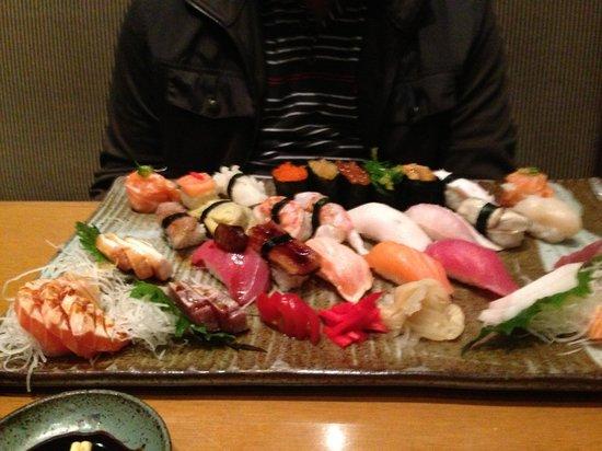 Grand Hyatt Sao Paulo : Restaurante japonês: muito bom!