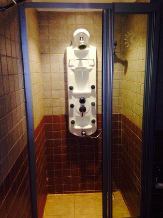 SENTIDO Turan Prince: Bathroom 8 shower heads!! Amazing