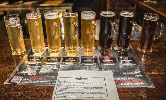 Frankenmuth Brewery: Flight $12
