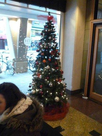 NH Carlton Amsterdam: Christmas decorations