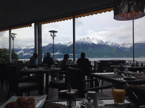 Grand Hotel Suisse Majestic: Breakfast