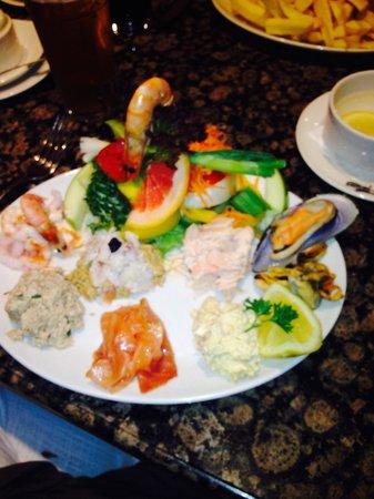 Trenchers: Seafood salad 😃