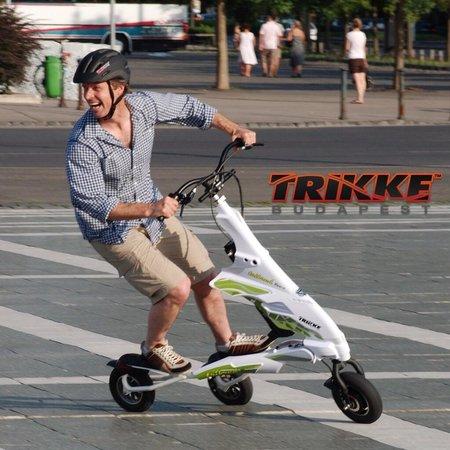 Trikke Budapest