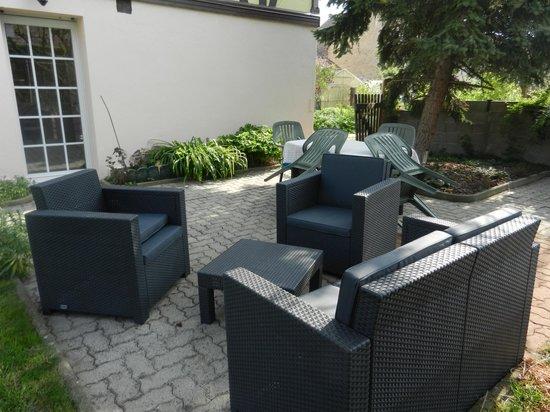Chez Dany : salon de jardin