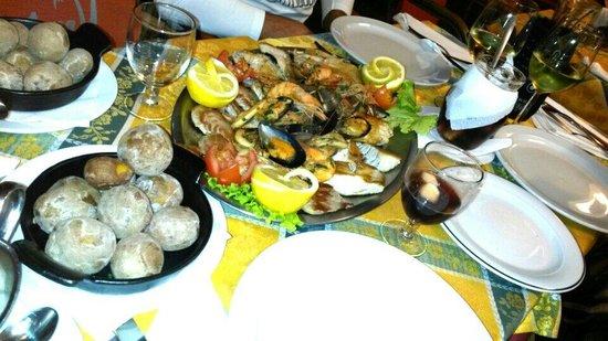 Montana: grigliata di pesce