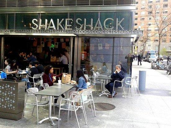 Shake Shack: Buen almuerzo