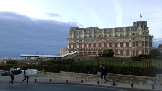 Hôtel du Palais : Вид на отель