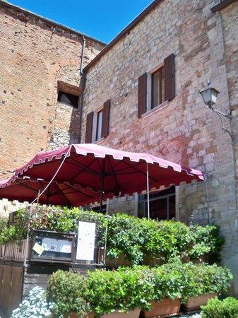 La Locanda di San Francesco : ホテルのワインバー