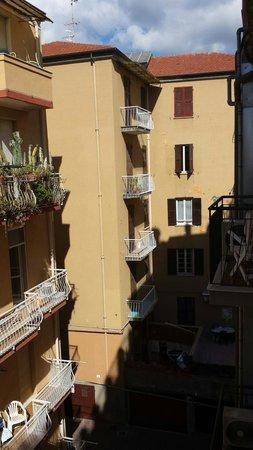 Hotel Rosa: Vista terrazzo camera