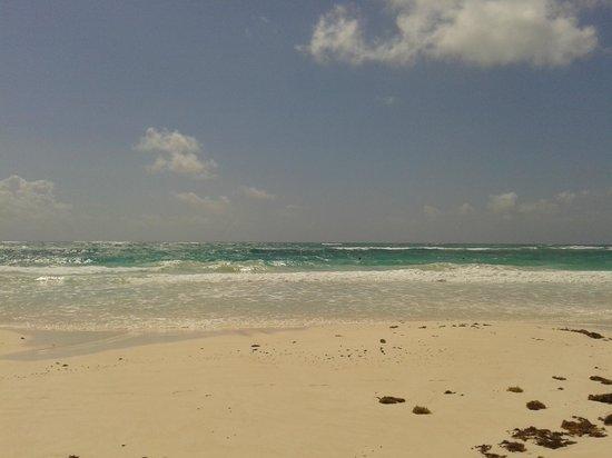 Retiro Maya: El hermoso mar