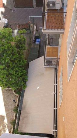 Hotel Rosa: Vista terrazzo camera 2