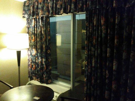 Howard Johnson Inn Albany: Tende alle finestre!