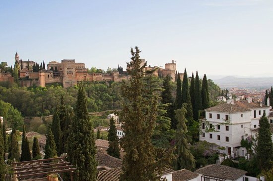 Solar Montes Claros: A view from the balcony - The Alhambra