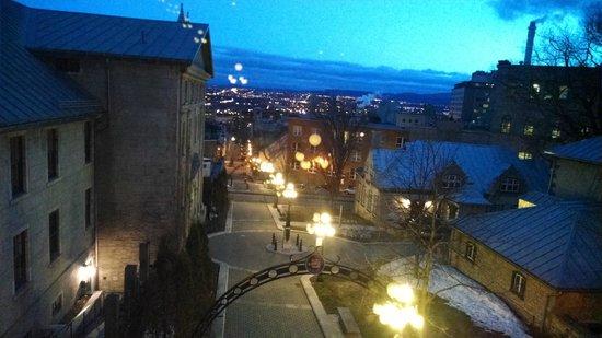 Hotel Jardin Ste-Anne: Vista às 5 da manhã