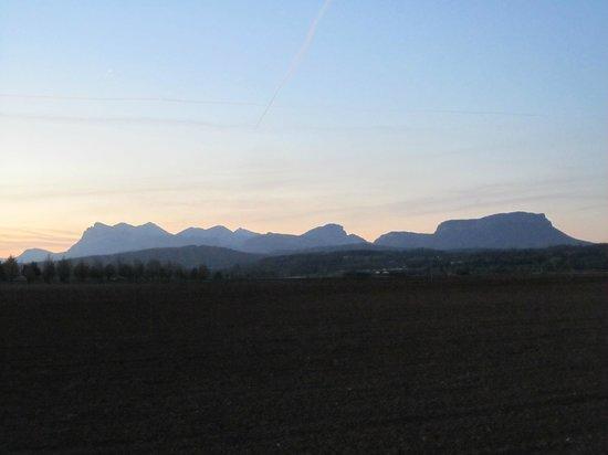 Auberge la Plaine : Au petit matin...