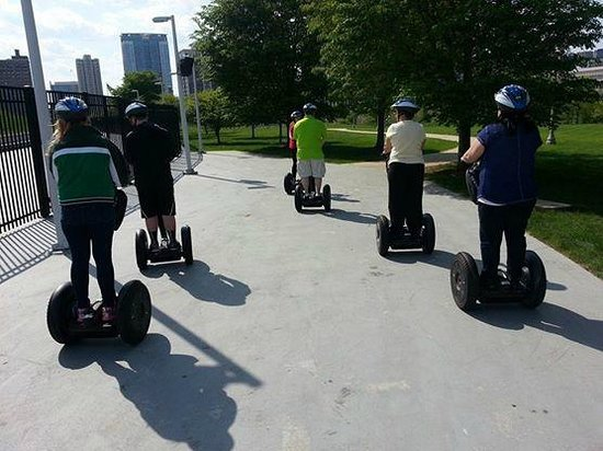 City Segway Tours Chicago : Our Segway Group