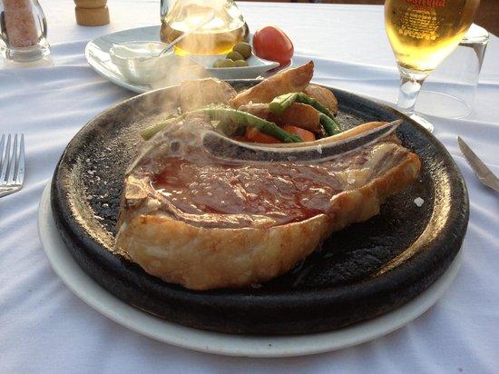 Restaurant Ses Oliveres: T-Bone Steak