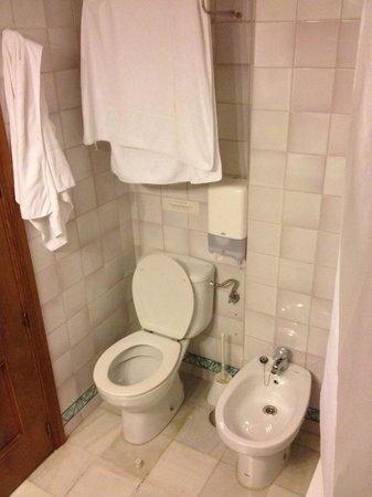 Hotel Alcantara: Baño muy limpio