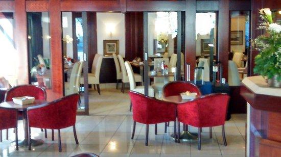 Novum Hotel Continental Frankfurt: Comedor