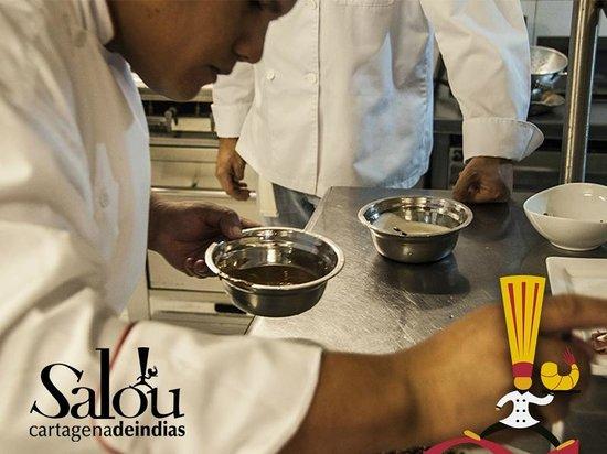 Salou Cartagena de Indias : Cocina Salou