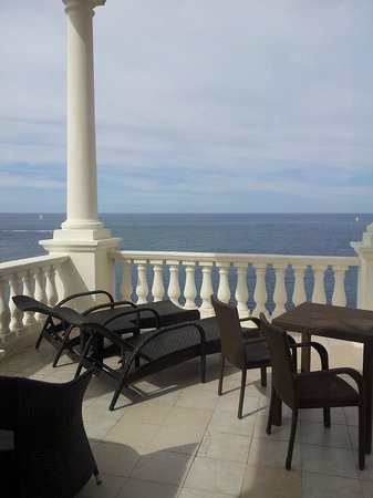 The Westin Dragonara Resort, Malta: Tower Room Balcony