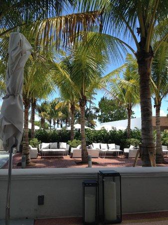 Metropolitan by COMO, Miami Beach: View from restaurant terrace