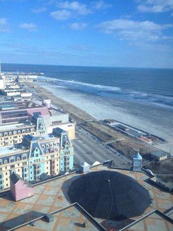 Caesars Atlantic City: Centurion tower view!