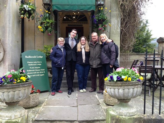 Our group with Daryl at The Bailbrook Lodge.