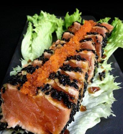 Sushilounge: salmon wasabi