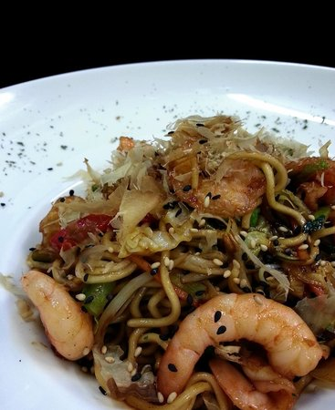Sushilounge: Yakisoba Gambas/Prawn Yakisoba noodles