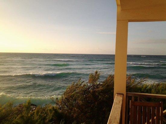 Ocean Spray Beach Apartments : Blick vom Balkon