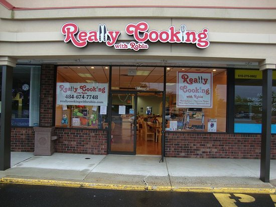 East Norriton, เพนซิลเวเนีย: Really Cooking with Robin