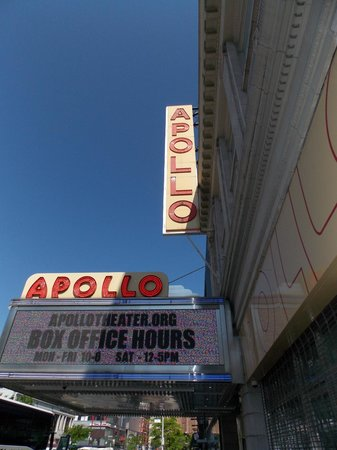 Harlem Spirituals: Apollo Theater.  Nice stop to see the Harlem neighborhood.