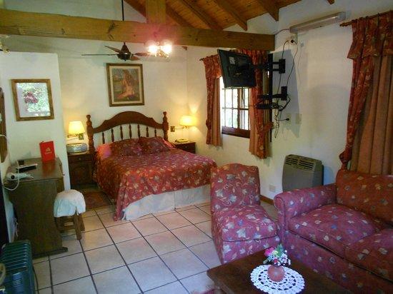 Alpenhaus Gasthaus: Bungalow Suite mit Flussicht