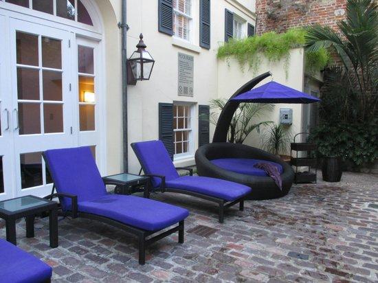 Hotel Le Marais: Lounge Area