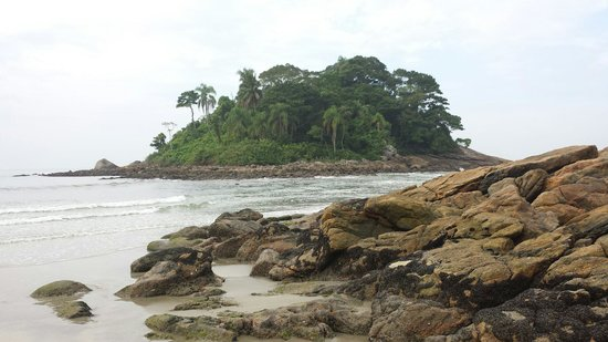 Iporanga e das Conchas Beach: Ilha