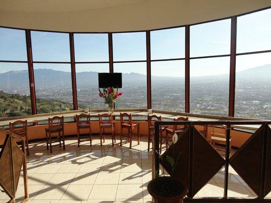 Hotel Linda Vista : Ausblick vom Frühstück