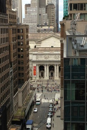 Library Hotel by Library Hotel Collection: View from room - Looking west to NYC Public Library along 41st St