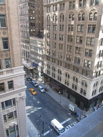 Library Hotel by Library Hotel Collection: Looking down Madison Ave from room