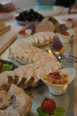 Savoy Hotel: buffet de la mer ....une reussite