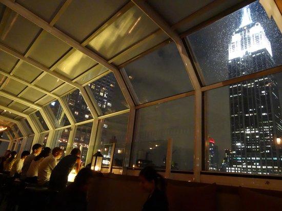 Marriott Vacation Club Pulse, New York City: Bar-terrasse