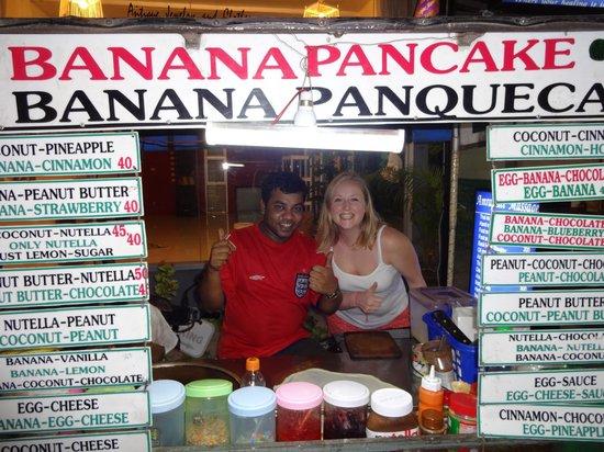 Peace Resort: Pancakes at the market