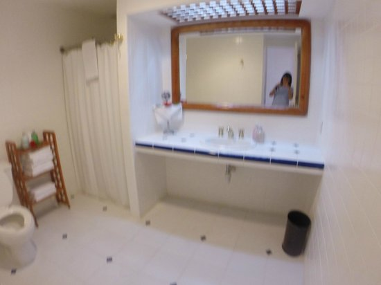 Playa Azul Golf, Scuba, Spa: Bathroom